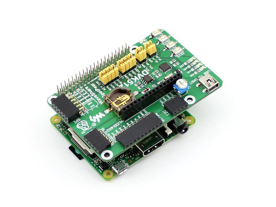 DVK512 Raspberry Pi Expansion Board Shield Erweiterungsplatine GPIO Board RS232