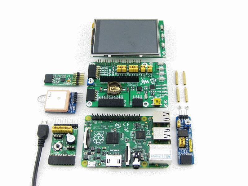 2 B 3B Various Interface B DVK512 GPIO Shield board for Raspberry Pi Model A