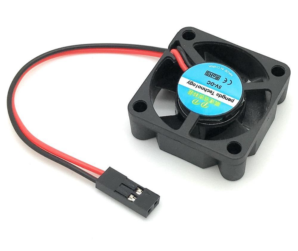 Lüfter 30x30x10mm 5V DC mit Dupont Steckverbinder passend für NESPI ...